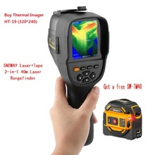 HT-19 3.2in полный угол TFT экран дисплея Инфракрасный Тепловизор инфракрасный термометр AC100-240V