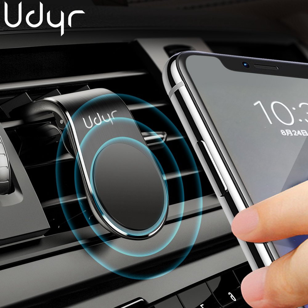Udyr Magnetic Car Phone Holder Air Vent Clip Mount Smartphone Voiture Stand Magnet Mobile Phone Holder For IPhone Samsung In Car