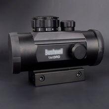 Holográfico 1x30 1x40 red dot sight airsoft vermelho verde vista caça escopo 11mm 20mm montagem em trilho colimador
