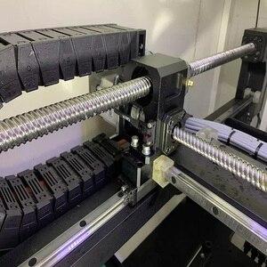Image 5 - 高精度チップマウンター SMT550 PCB ボード製造機とサーボモータとネジガイド