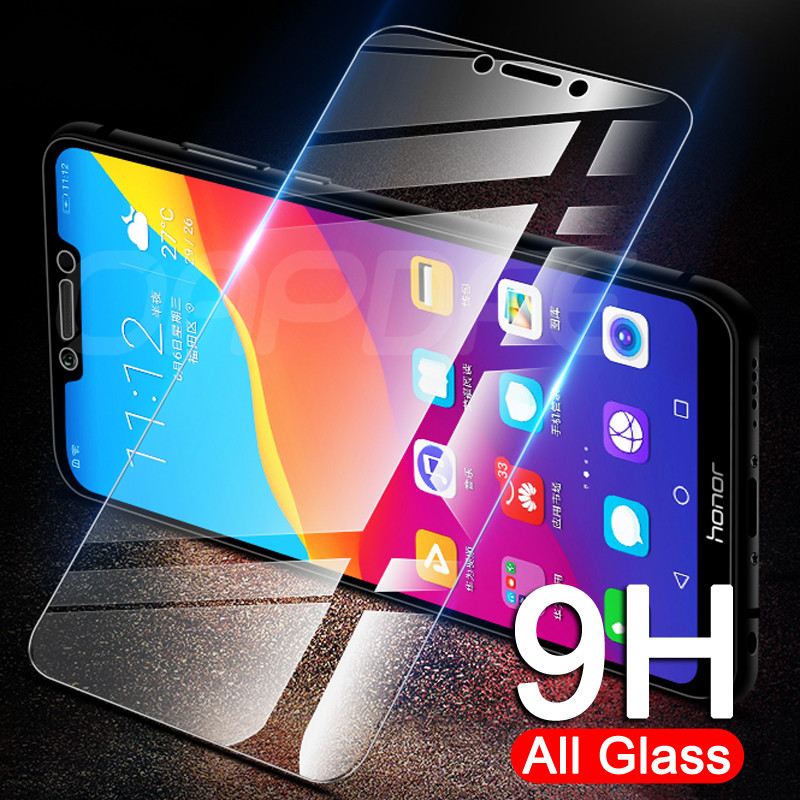 9H Protective Glass on the For Honor 8 Lite 9X 8X 8A 8C 8S Tempered Screen Protector Glass Honor 7A 7C 7S 7X Clear Glass Film(China)
