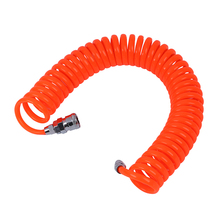 цена на 6M 19.7Ft 8mm x 5mm Flexible PU Recoil Hose Tube for Compressor Air Tool