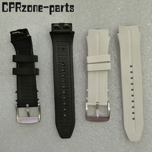 100% Garantie Horlogeband Horlogeband Plastic Rubber Bandjes met Antenne Voor LG Urbane 2 LTE w200 Smart Horloge Gratis schroeven + gereedschap