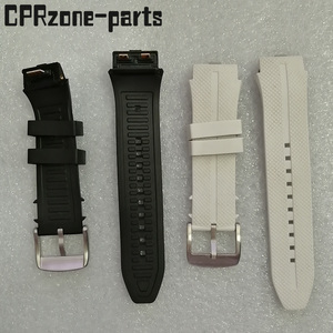 Image 1 - 100% Warranty Watchband Watch Strap Plastic Rubber Straps with Antenna For LG Urbane 2 LTE w200 Smart Watch Free screws + tools