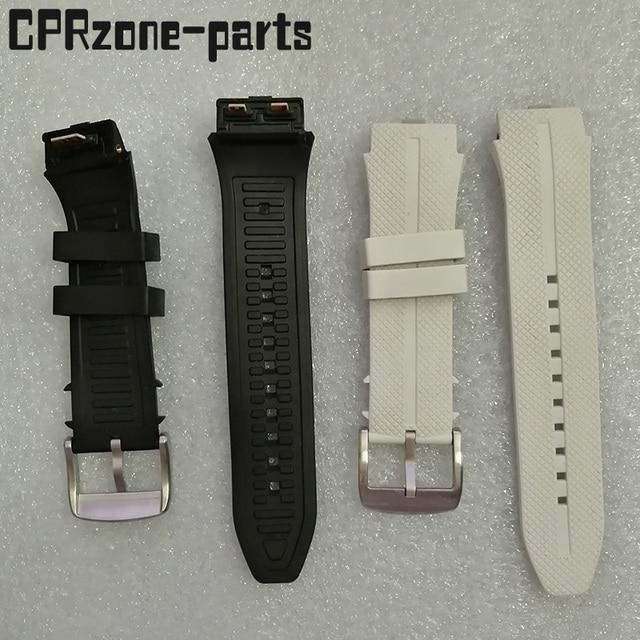 100% garantie bracelet de montre bracelet en plastique caoutchouc sangles avec antenne pour LG Urbane 2 LTE w200 montre intelligente vis + outils gratuits