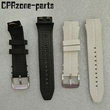 Correa de reloj con garantía de 100% correas de goma de plástico con antena para LG Urbane 2 LTE w200 reloj inteligente tornillos gratis + herramientas