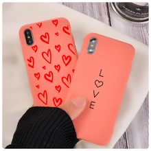Cute Heart love Phone Case For iPhone 11
