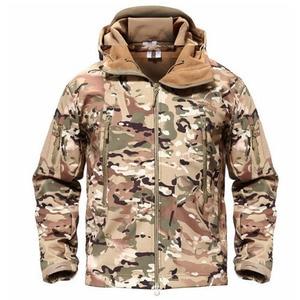 Image 5 - TACVASEN veste tactique polaire pour homme, veste imperméable Softshell, coupe vent, vêtement de randonnée en plein air, chauffant