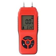 цена на LCD Digital Wood Moisture Meter Plywood Hygrometer Handheld Humidity Testers Detector WWO66