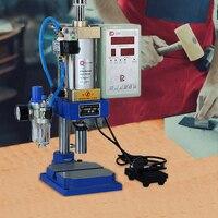 컨트롤러 펀치 기계와 110 v/220 v 수동 공압 프레스 작은 조절 힘 200 kg 공압 펀치