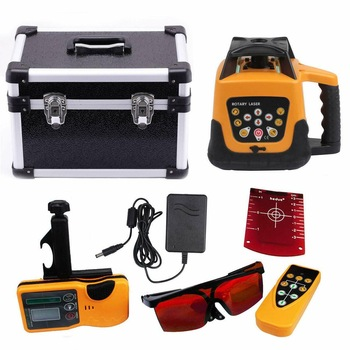 Honhill Laser Level Automatic 360 Rotating Construction Self-leveling Multipurpose 500m Range RED