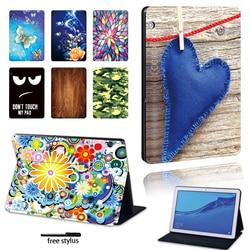Чехол с защитой от падения для Huawei MediaPad M5 Lite 10,1 дюйма/M5 10,8 дюйма/M5 Lite 8/T3 8,0/T3 10 9,6/T5 10 10,1, чехол для планшета с рисунком