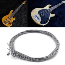 1 комплект бас гитары Сталь шнур для 4 струны Запчасти аксессуары