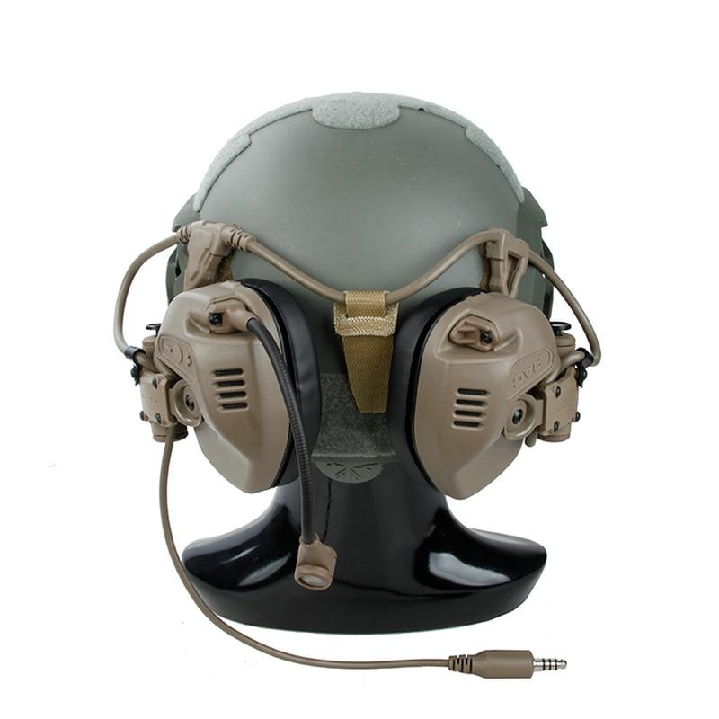 reducao de ruido fone de ouvido melhores fones de ouvido tatico tmc tactical rac para maritimo