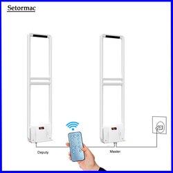 EAS Tag Systeme 58Khz EAS Sicherheit System Sound & Light Alarm App Control Einzelhandel Geschäft Sicherheit Sensoren 1Mater + 1 stellvertreter
