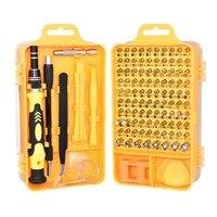 Ferramentas de Reparo Kit chave de fenda de Precisão Chave De Fenda Set 115 em 1 com Carry Case for Laptops Telefone Do Relógio