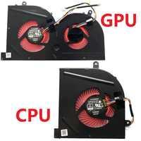 NEUE Laptop cpu lüfter für MSI GS63VR GS63 GS73 GS73VR MS-17B1 Stealth Pro CPU BS5005HS-U2F1 GPU BS5005HS-U2L1 KÜHLER
