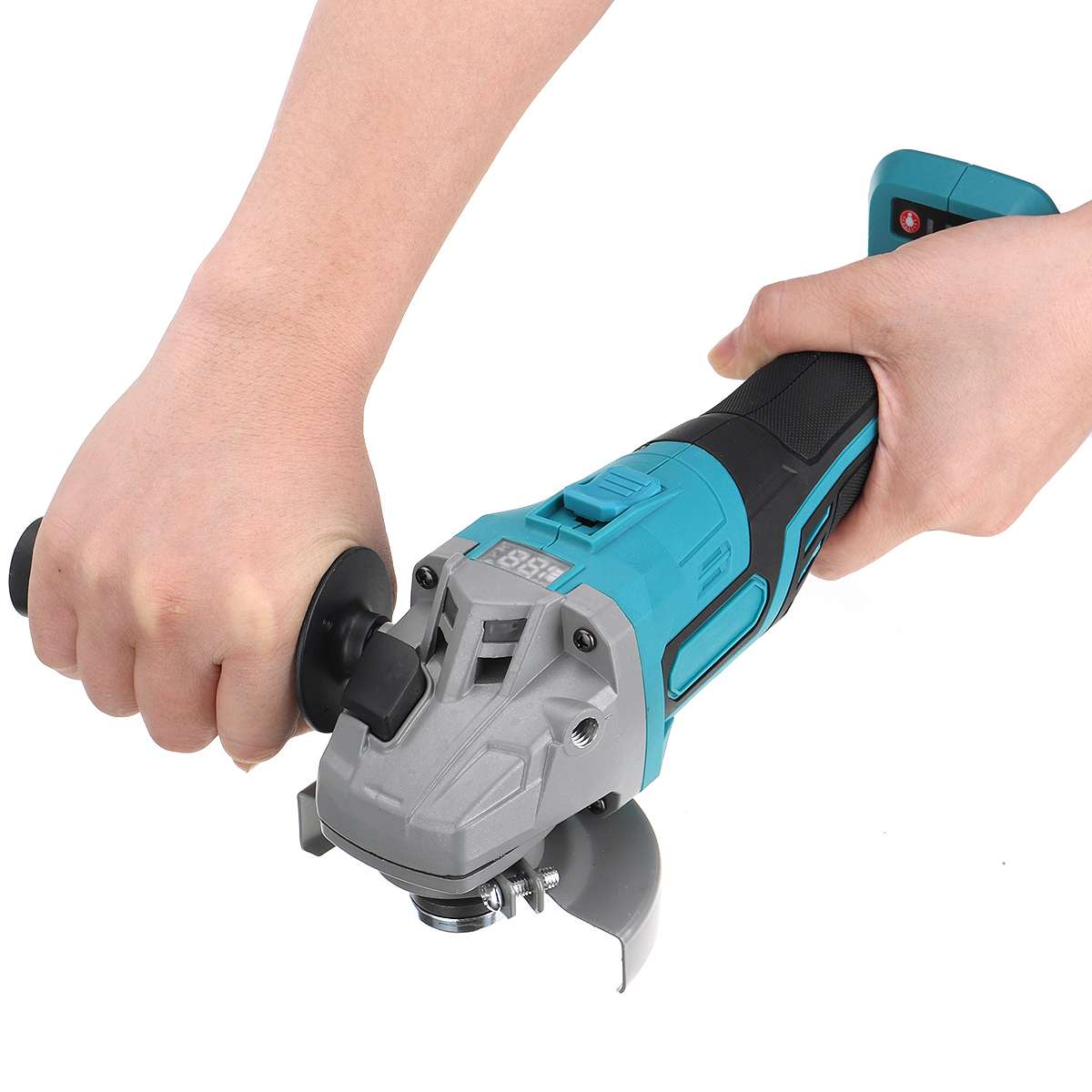 Brushless Electric Angle Grinder 100mm Grinding Machine Cordless  Woodworking Metal Cutting Power Tool For 18V Makita Battery
