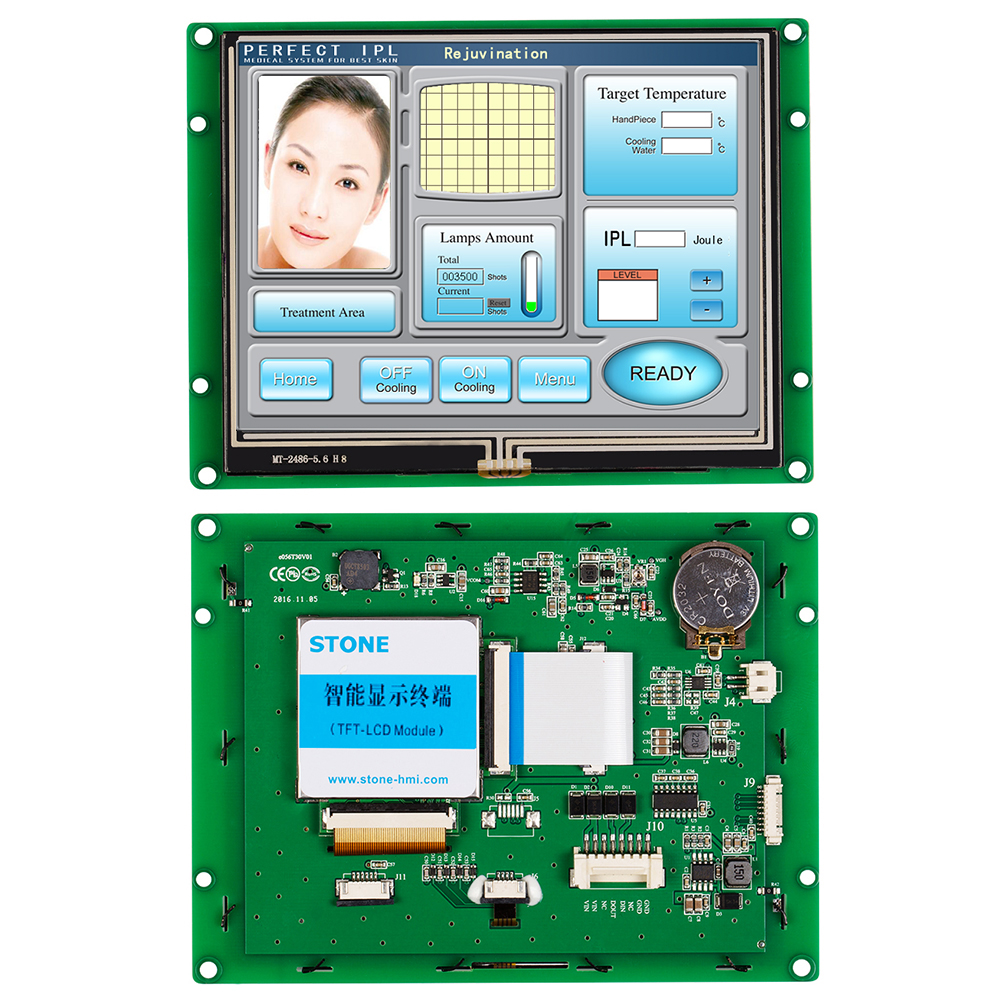 5.6 Inch HMI Programmable TFT LCD Touch Screen For Industrial Use