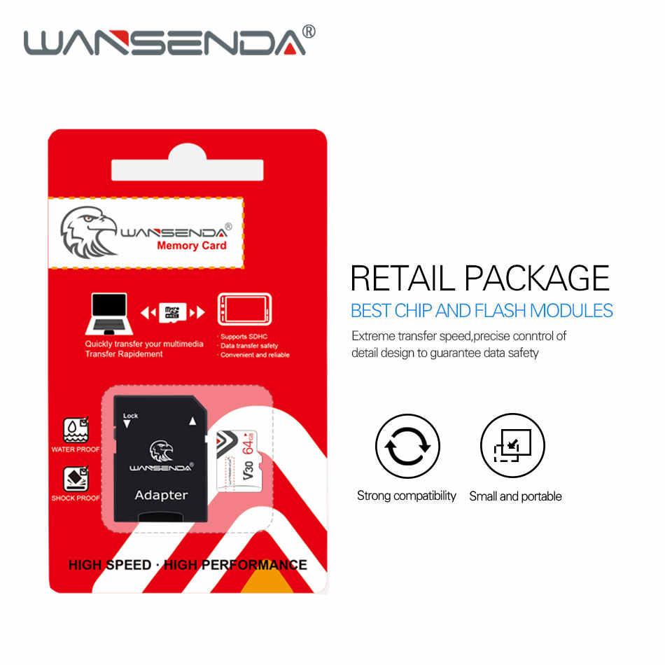 WANSENDA メモリカード 32 ギガバイト 64 ギガバイトの SDHC SDXC マイクロ SD カード 8 ギガバイト 16 ギガバイト 64 ギガバイト 128 ギガバイトクラス 6 クラス 10 ミニの Transflash Microsd TF カード