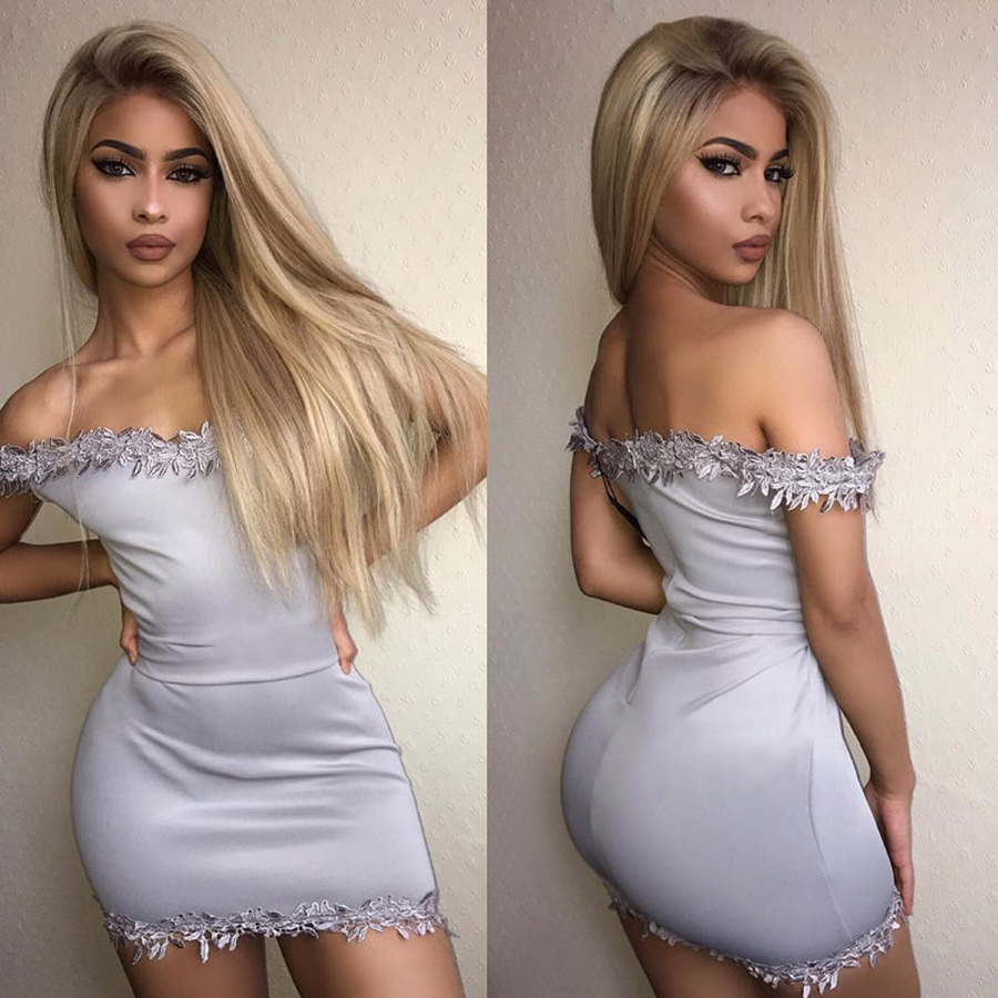 Lemi Color Ombre Blonde 13x4 Lace Front Human Hair Wigs T4/27/613 Transparent Lace Front Wig With Baby Hair Remy Hair