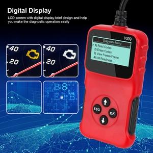 Image 4 - V309 OBD2 Code Reader OBD 2 Scanner OBDII Auto Diagnose Werkzeug Stecker und Spielen Digital Display Auto Zubehör ULME 327