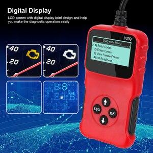 Image 4 - V309 OBD2 Code Reader OBD 2 Scanner OBDII Car Diagnostic Tool Plug and Play Digital Display Auto Accessories ELM 327