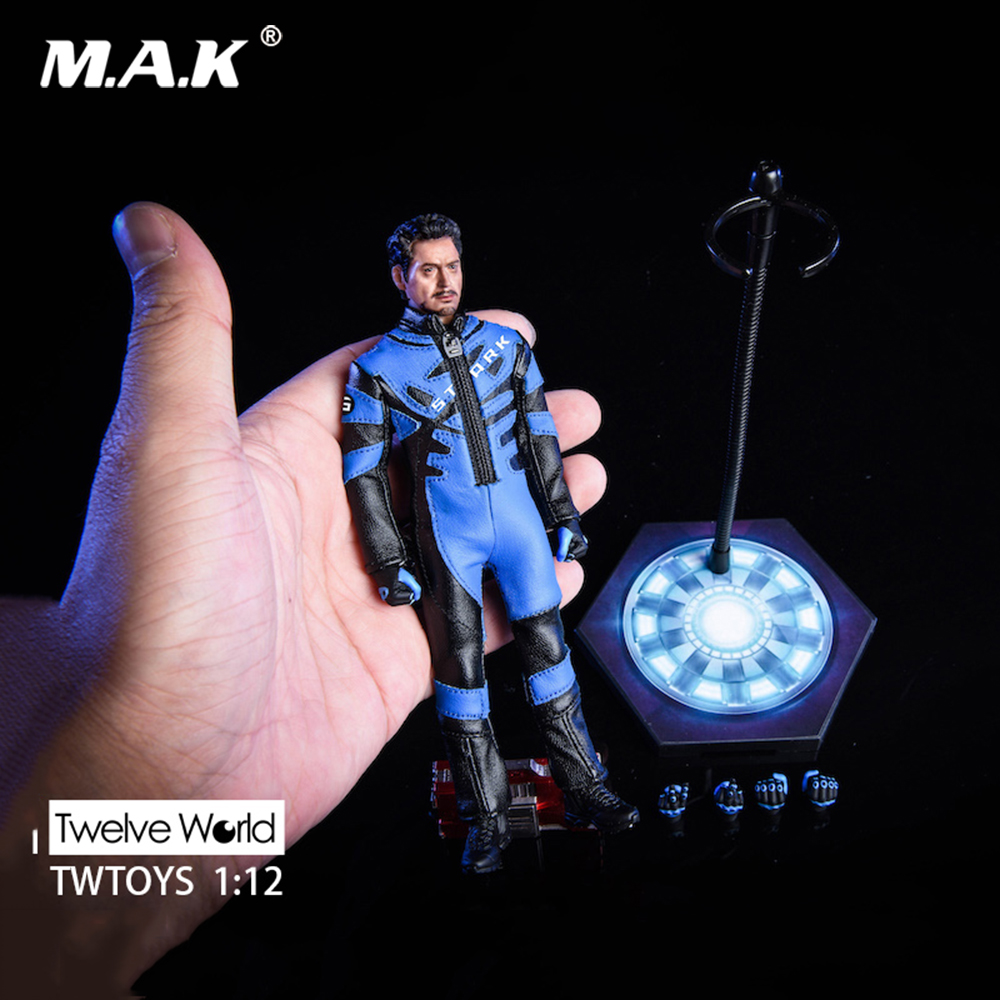 TWTOYS TW1915 MK5 1/12 Scale Pre-sale Collectible Full Set Tony Head & Body & Racing Clothes Suit Accessories 6 Inches Model
