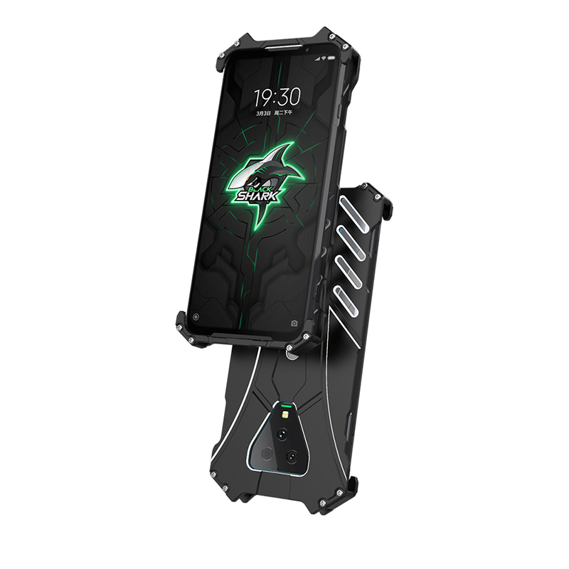 R-JUST Case For Xiaomi Black shark 3 Pro 2 Pro Hello Heavy Dust Metal Armor Anodized Aluminum Fundas Coque Housing Cover Case