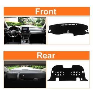 Image 5 - Tapis de couverture de tableau de bord de voiture éviter la lumière tapis de tableau de bord Anti UV pour Honda Accord X 10th 2018 2019 2020 accessoires