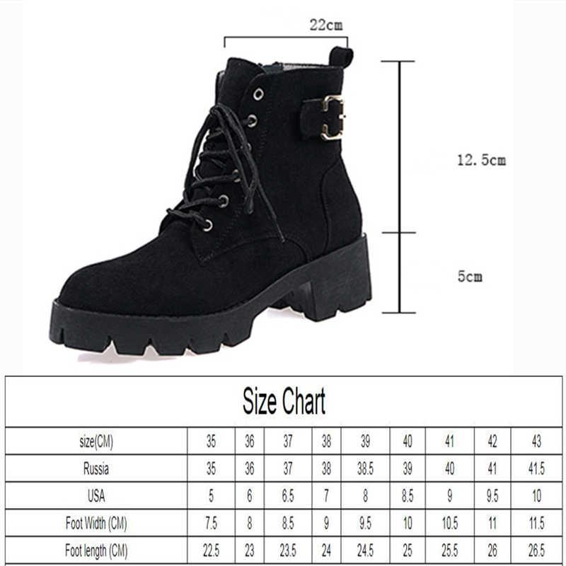 2020 sonbahar yeni kısa çizmeler kadın Martin çizmeler gelgit yuvarlak kafa ile avrupa ve amerikan rüzgar çizmeler kadın