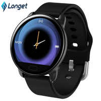 Longet Smart Bracelet K9 Waterproof Hs6620D Fitness Tracker Blood Pressure Music Control Smart Band for iOS Android pk fitbit