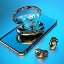 цена на TWS Earphone Bluetooth Stereo Wireless Earphones earphones Waterproof Earbuds With LED Display Sport Wireless Headsets