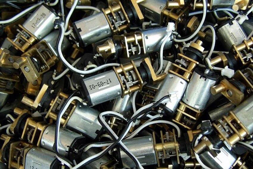 Магнитный съемник для жестких бирок для электронного отслеживания товара, N20 Шестерни ed мотор с Медь с поворотным механизмом, все Сталь Шестерни точность отпечатков пальцев замок мотор DC3V-6V, 30 оборотов в минуту-60 оборотов в минуту