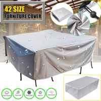 Cobertor para muebles de jardín, tamaño 68, impermeable, para lluvia, nieve, para sofá, Mesa, a prueba de polvo