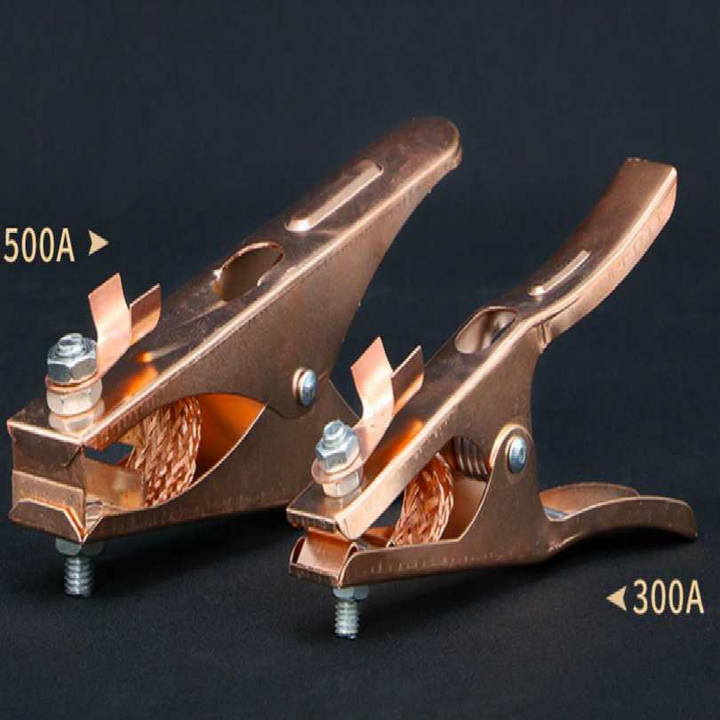500a 300a pure copper Argon gas welder grounding clip device tig welder earth clamp free shipping