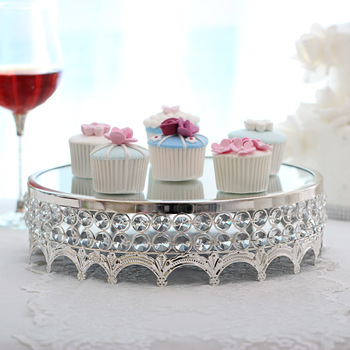 European metal cake platform, desserts and desserts, baking party supplies, wedding props, and cake tray. cake stand