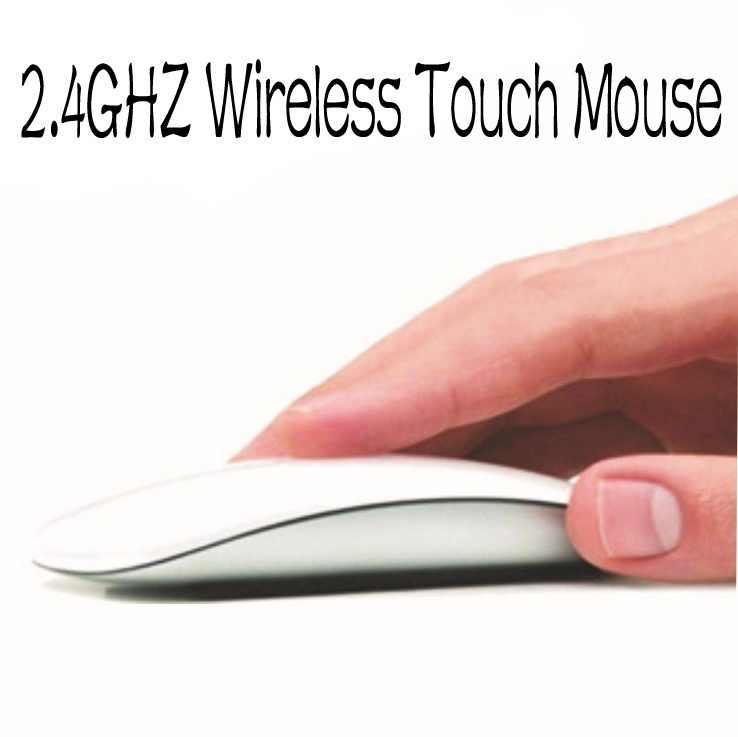 Souris optique sans fil USB 2.4GHz souris Bluetooth pour Apple Mac Macbook Pro Air souris écran tactile PC pour la rentrée des élèves