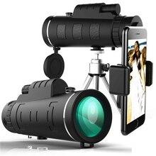 TOKOHANSUN lente Universal para cámara de teléfono móvil, telescopio con Zoom de vidrio óptico 40X, teleobjetivo para iPhone 6, Samsung, Smartphones