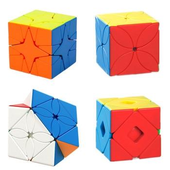 Moyu Meilong Strange-shape Magic Cube Four Leaf Clover / Double Skew Polaris Maple Leaves Profession Puzzle Education - discount item  43% OFF Games And Puzzles