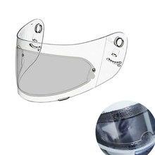 Película transparente para casco de motocicleta, protector antiniebla y resistente a la lluvia, impermeable, para Visor de cascos de motocicleta K3, K4, AX8, HJC, HD, MT, LS2, 2 uds.