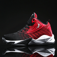농구 신발 남자 야외 농구 스 니 커 즈 높은 상위 Shockproof 커플 신발 Anti slip 통기성 스포츠 신발 남여|농구 신발|   -