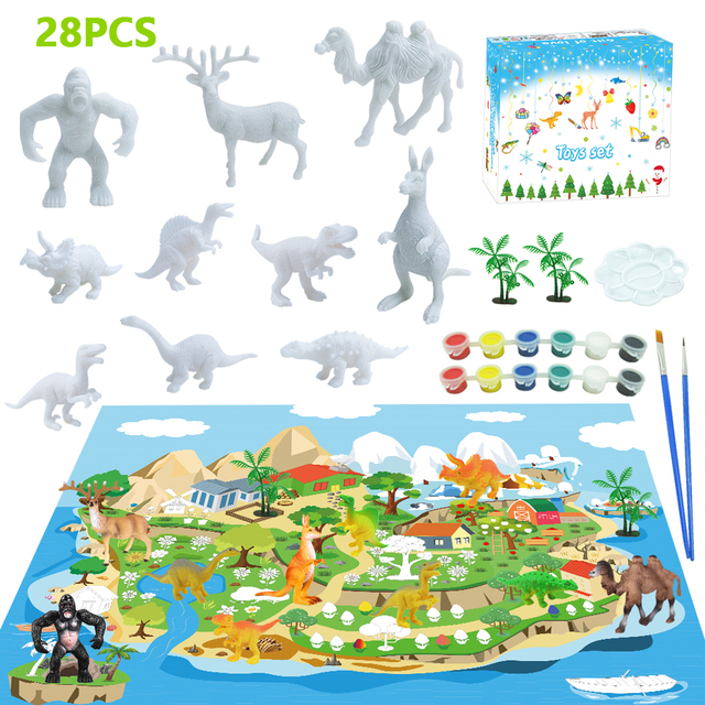 DIY Color 3D Painting Animal Colorful Model Drawing Graffiti Toy 1