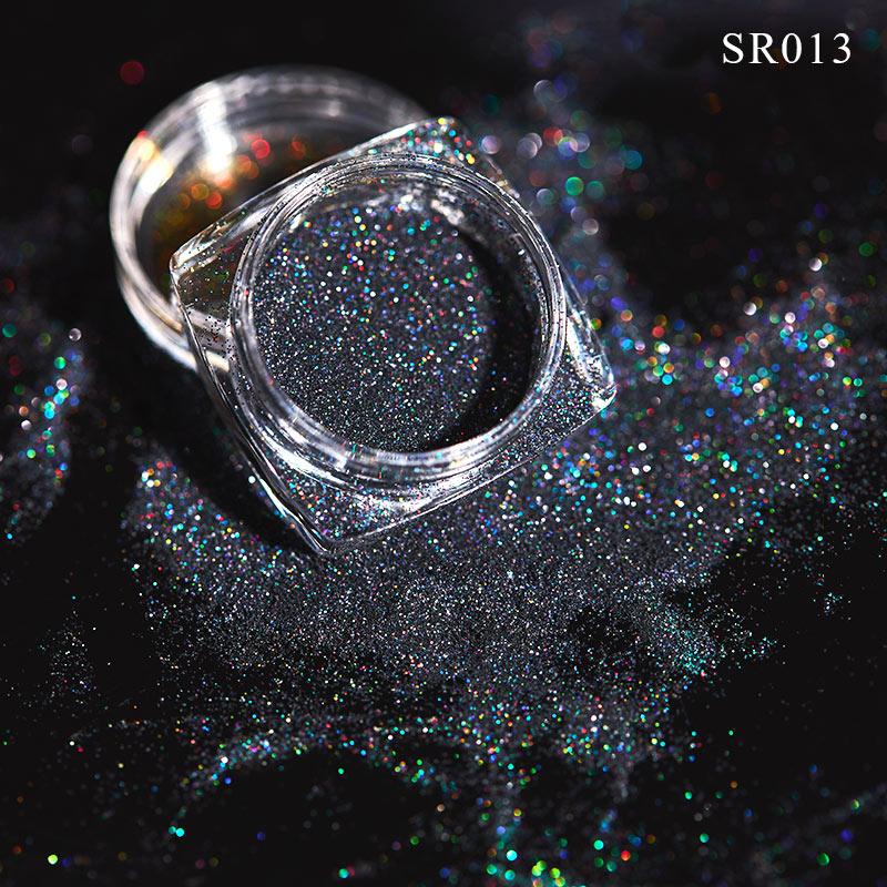 Волшебное зеркало блеск для ногтей Dip порошок Сияющий хром пигмент пыль голографическое искусство ногтей Маникюр УФ пудра для ногтей гель лак - Цвет: VQ01714