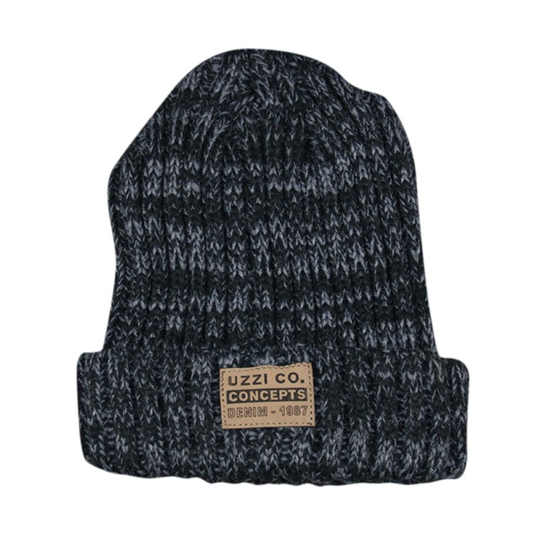 Женские Простые шапки бини для девочек, женские шапки в стиле хип-хоп, хлопковые однотонные теплые мягкие вязаные шапки в стиле хип-хоп, мужские зимние шапки - Color: XG1266BH