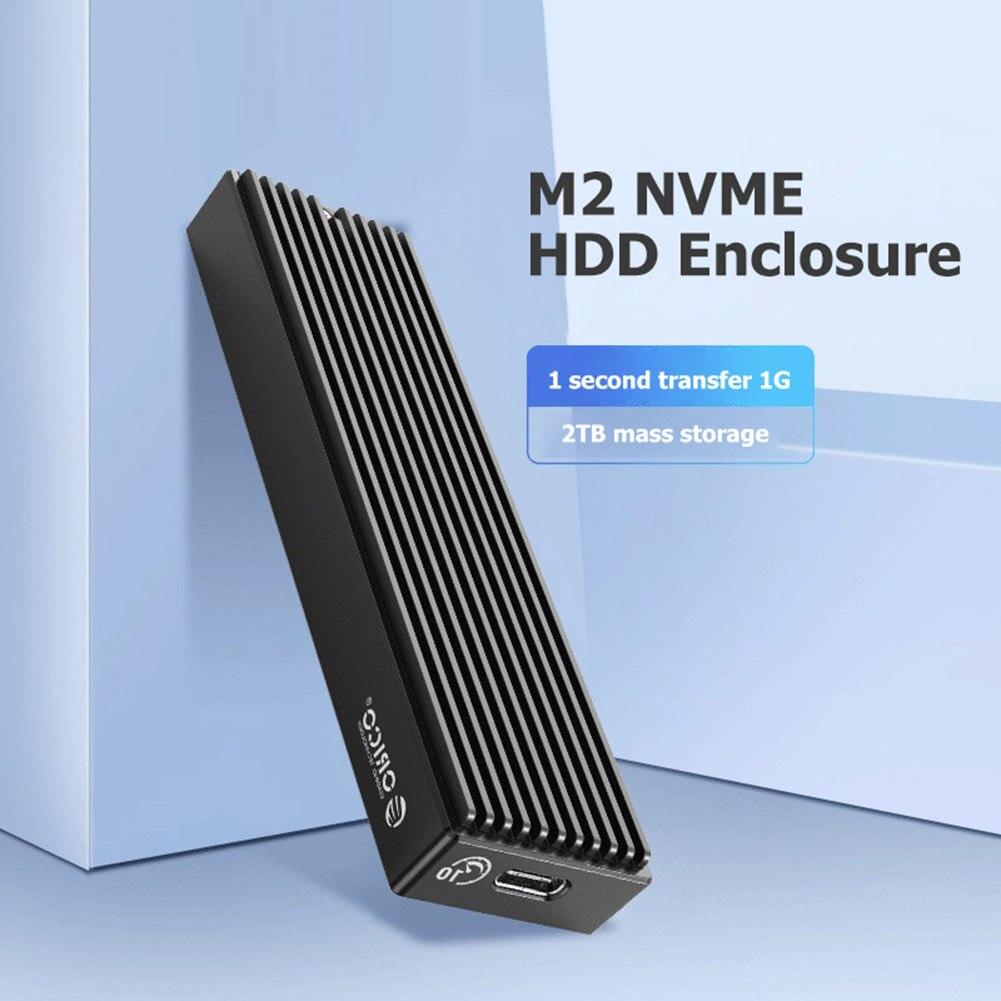 ORICO M2PV-C3/M2PF-C3 Type-C M.2 NGFF/NVME Solid State Drive Enclosure Box USB3.1 5/10Gbps External 2230/2242/2260/2280 SSD Case 2