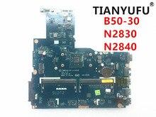 新しい ZIWB0/B1/E0 LA B102P ノートパソコンのマザーボードレノボ B50 30 マザーボード N2830 N2840 CPU (無指紋コネクタ) テスト