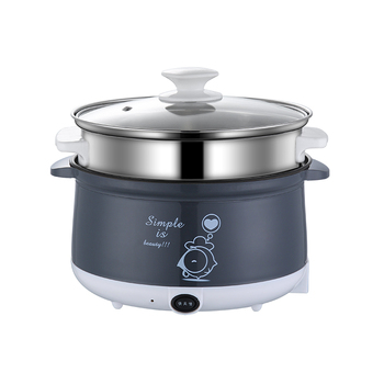 220V Household Electric Mini Multi Cooker Non-stick Hot Pot Cooking Pot For Cooking Frying Steaming EU/AU/UK/US High Quality 130usd frying pan multi function household pot student dormitory artifact mini electric cooker noodle baile li 9 9
