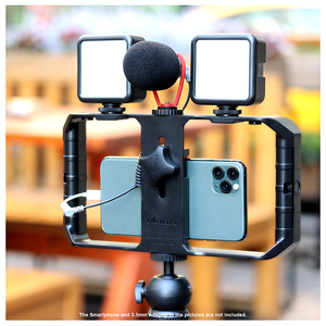 Image 5 - Ulanzi vlogリビングストリームキットyoutubeキットミニ三脚電話マウント記録マイクキット拡張三脚垂直撮影