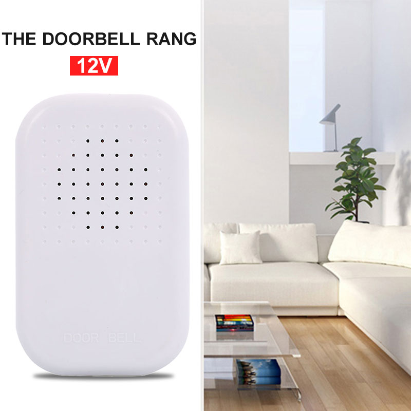 Door Bell Office Security 12V Doorbell Alarm Wired Outbuildings Jingle Bell Stable Performance Convenient Home Security Alarm